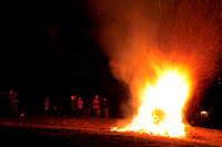 Osterfeuer, 07.04.2012